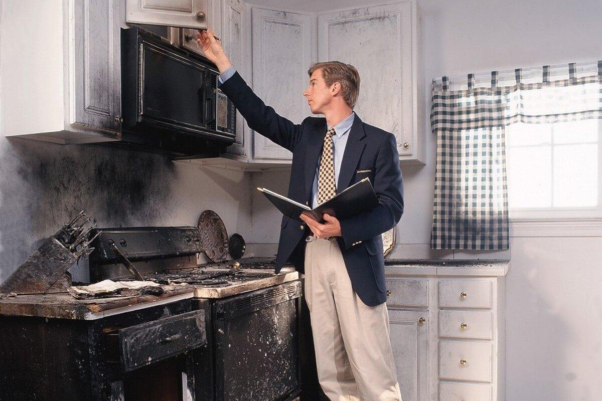 Экспертиза квартиры после пожара (фото)