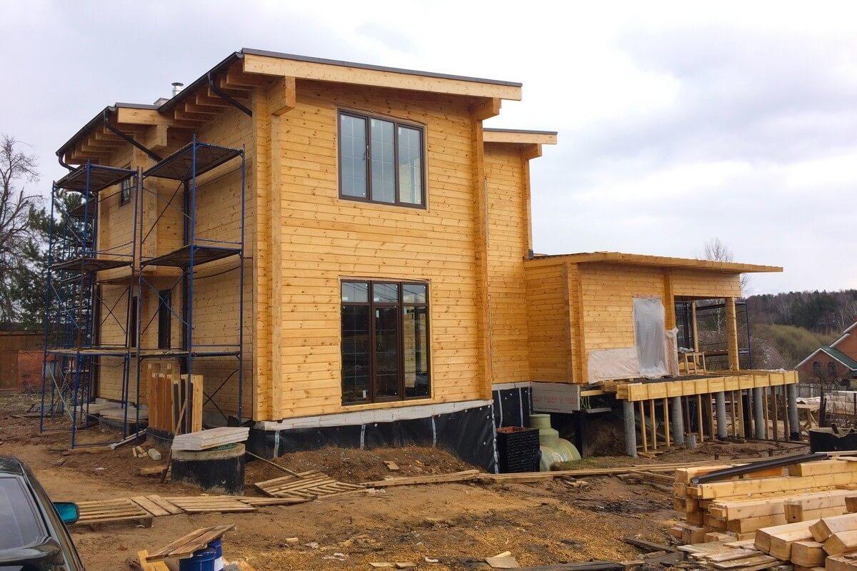 Экспертиза деревянного дома для суда (фото дома)