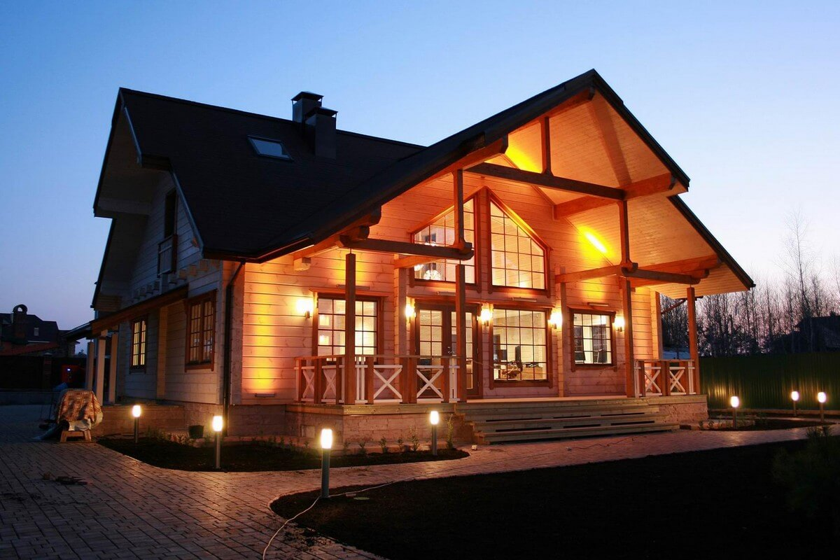 Экспертиза деревянного дома перед покупкой (фото дома)
