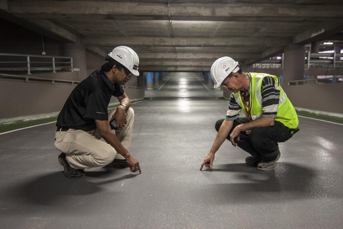 Экспертиза дорожного покрытия (фото)
