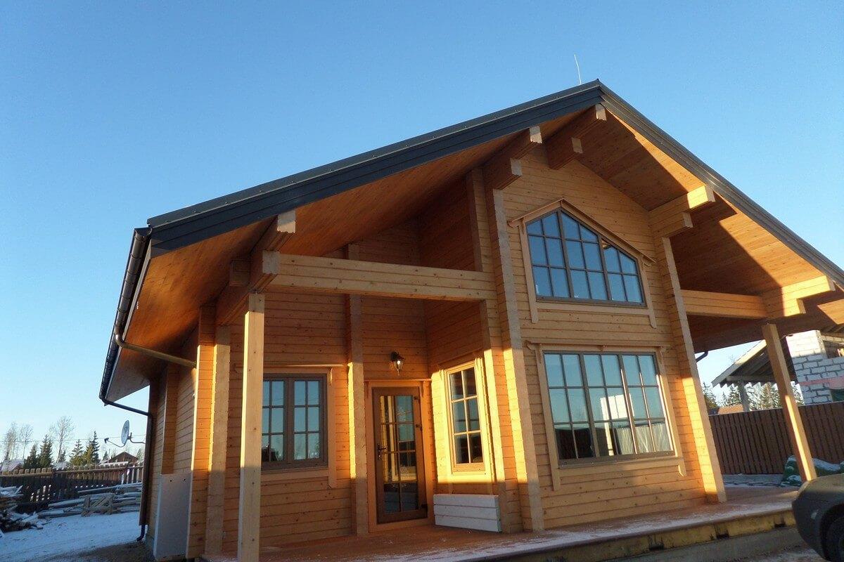 Обследование деревянного дома (фото дома)