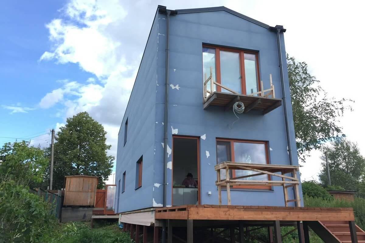 Строительная экспертиза частного дома (фото дома)