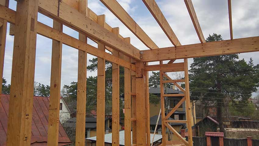 Технадзор по строительству коттеджей в Косино (фото строительства)