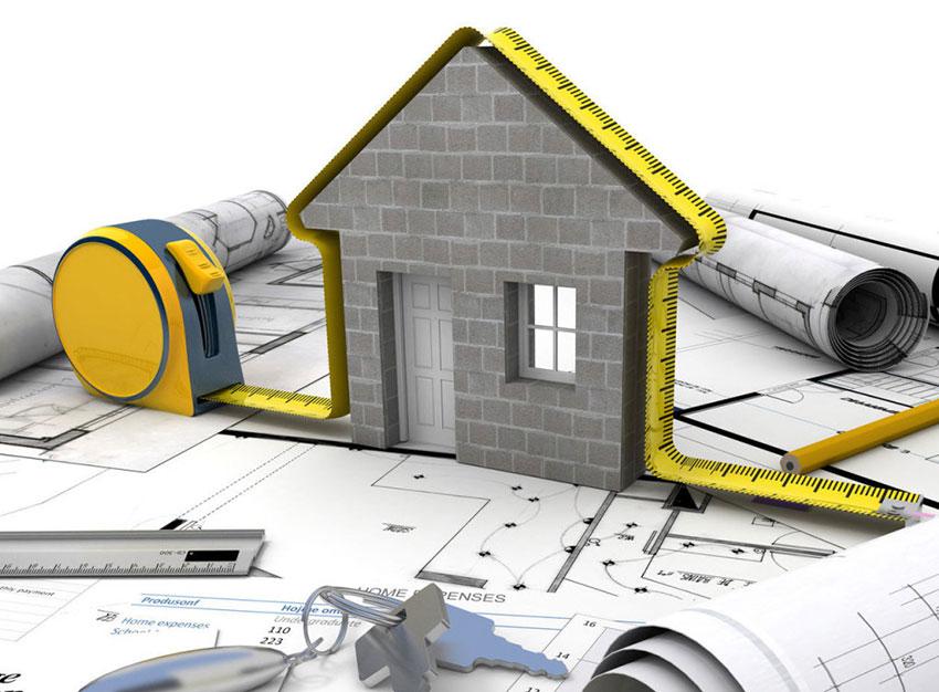 Экспертиза объема и стоимости строительных работ (рисунок)