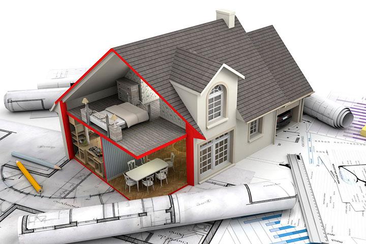 Проектирование домов (рисунок)