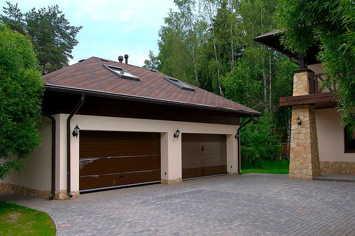 Проект гаража. Фото гаража