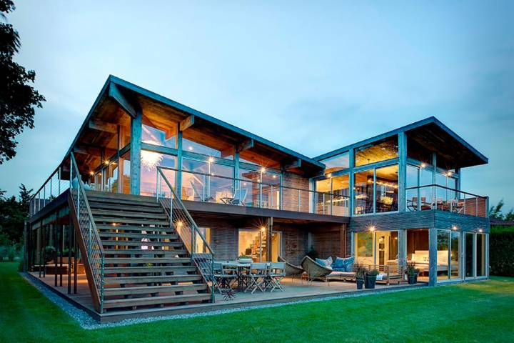 Проект загородного дома. Фото дома