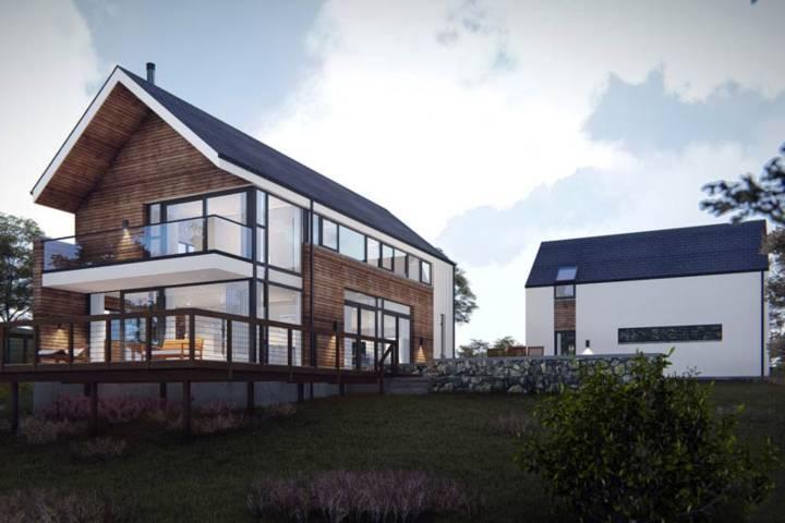 Индивидуальное проектирование домов. Фото дома