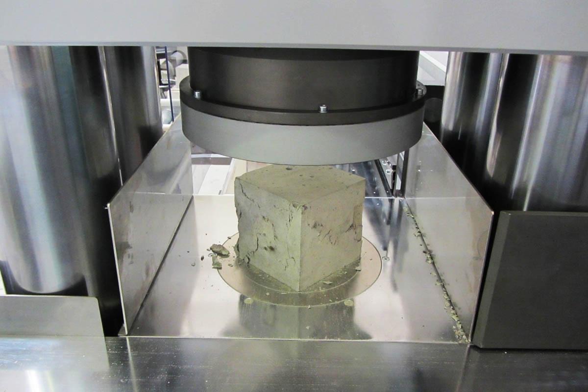 Лаборатории прочности бетона москва как сделать раствор для кладки камня цементный
