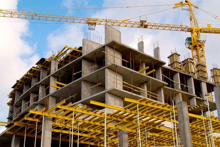 Заказать проектирование монолитного здания, перекрытия