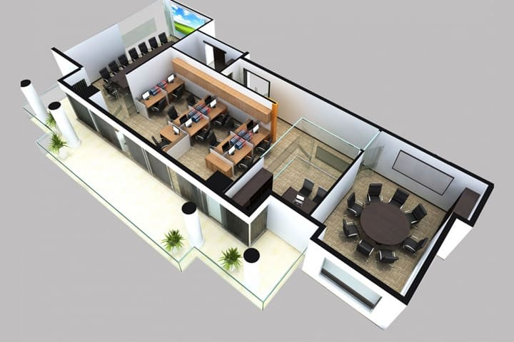 Заказать проектирование офисов